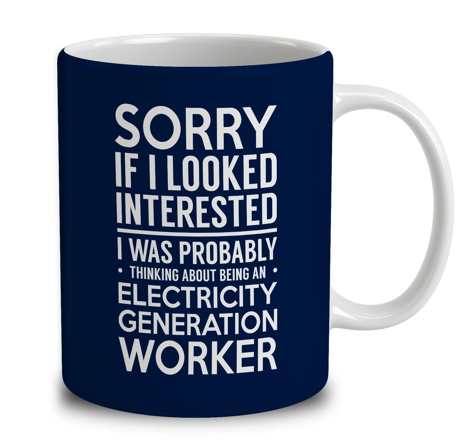 Probably Thinking About Being An Electricity Generation Worker