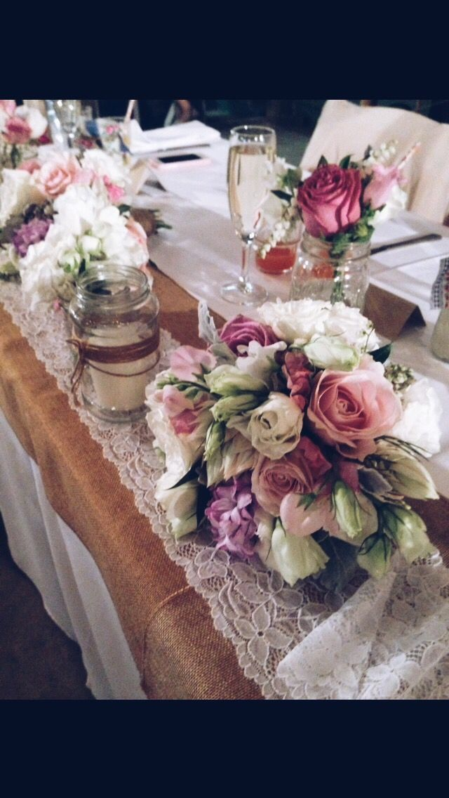 #rustic #wedding #bouquets #pink #white #flowers #florist #floral