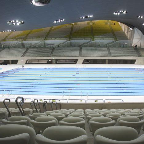 London Olympics - Aquatics Centre by Zaha Hadid Architects