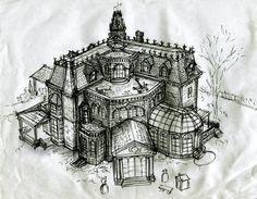 Photo of B-Movie Blitzkrieg: Blitzkrieg Intermission: Drawing The Addams Family House Par…
