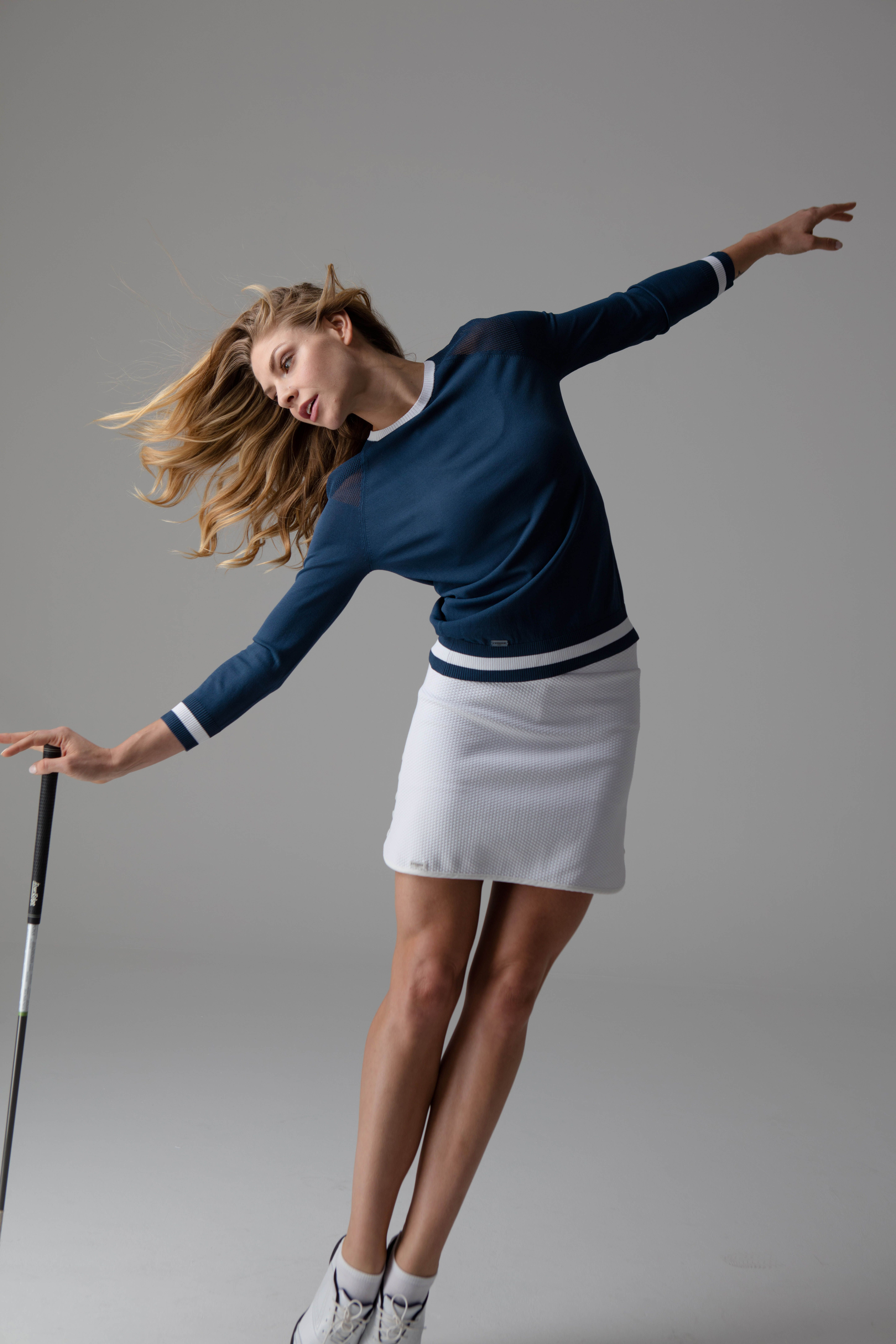 Pin By L Etoile Sport On Fall 17 Collection Golf Outfits Women Golf Outfit Golf Attire