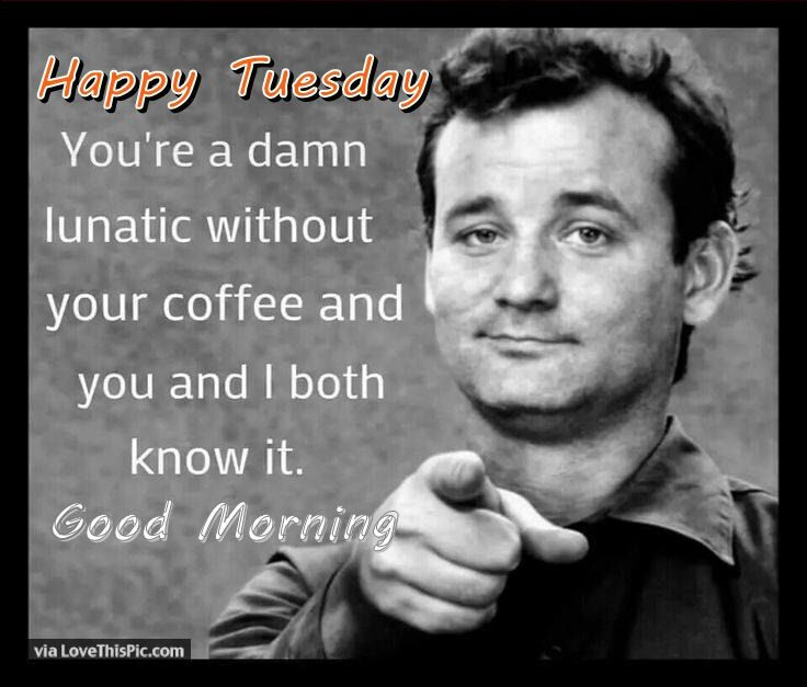 Funny Tuesday Morning Quote Coffee Humor Coffee Quotes Coffee Love