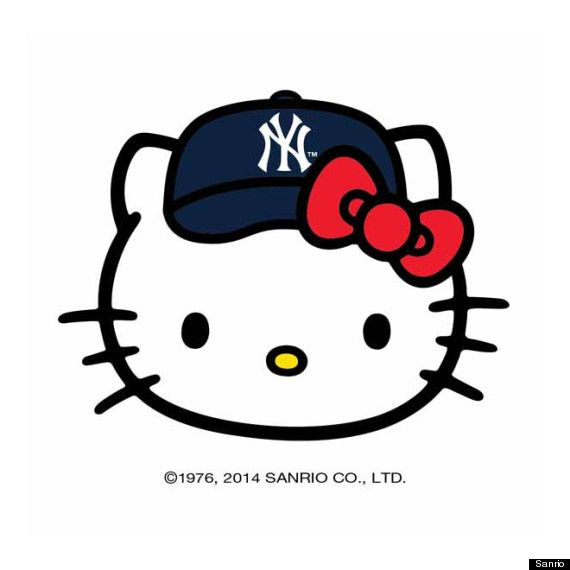 Hello Kitty x MLB partnership (I design/develop for) mentioned in ...