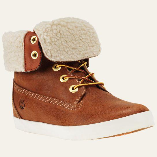 Women's Glastenbury Fleece Fold-Down Boots | Timberland US Store