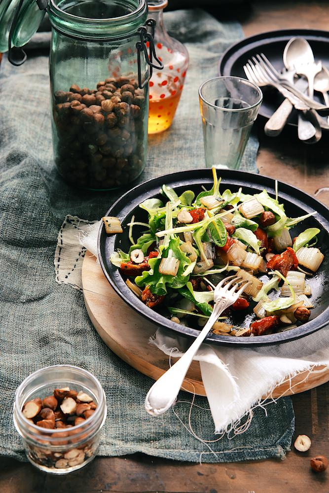 Saveurs Végétales: Salade de côtes de blettes sautées à l ...