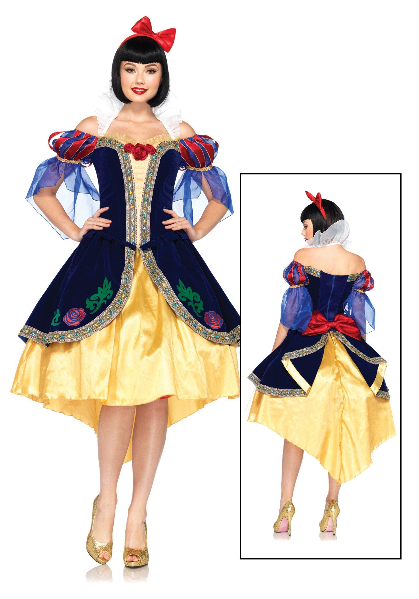 plus costumes size Disney white snow