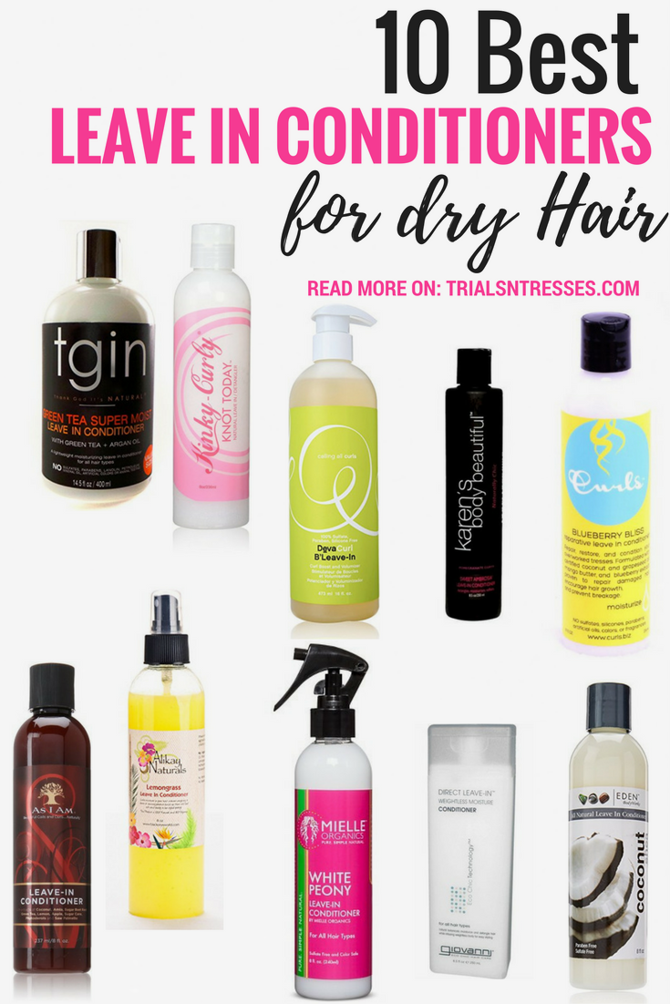 10 Best Leave In Conditioners For Dry Hair Lockigt Har Frisyrer
