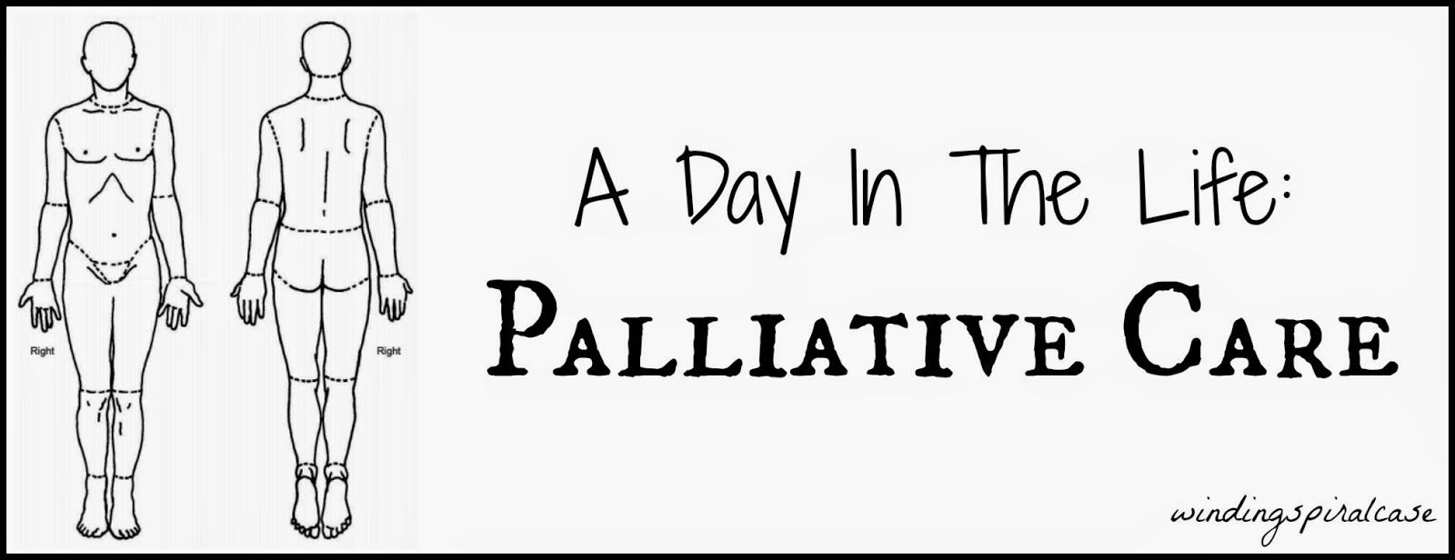 A Day In The Life Palliative Care Winding Spiral Case