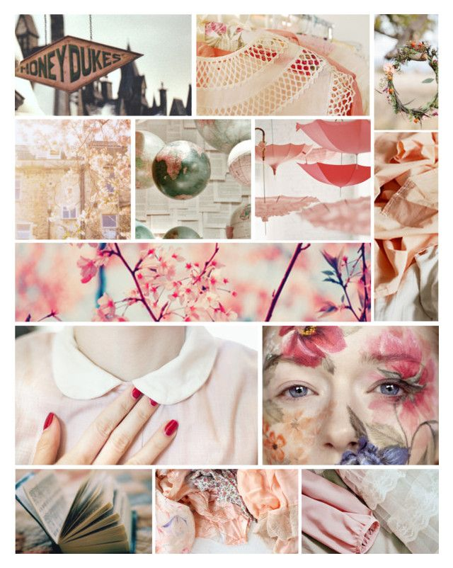"""""""Hogwarts Aesthetics - Girls"""" by elsabear ❤ liked on Polyvore featuring art, harrypotter and hogwarts"""