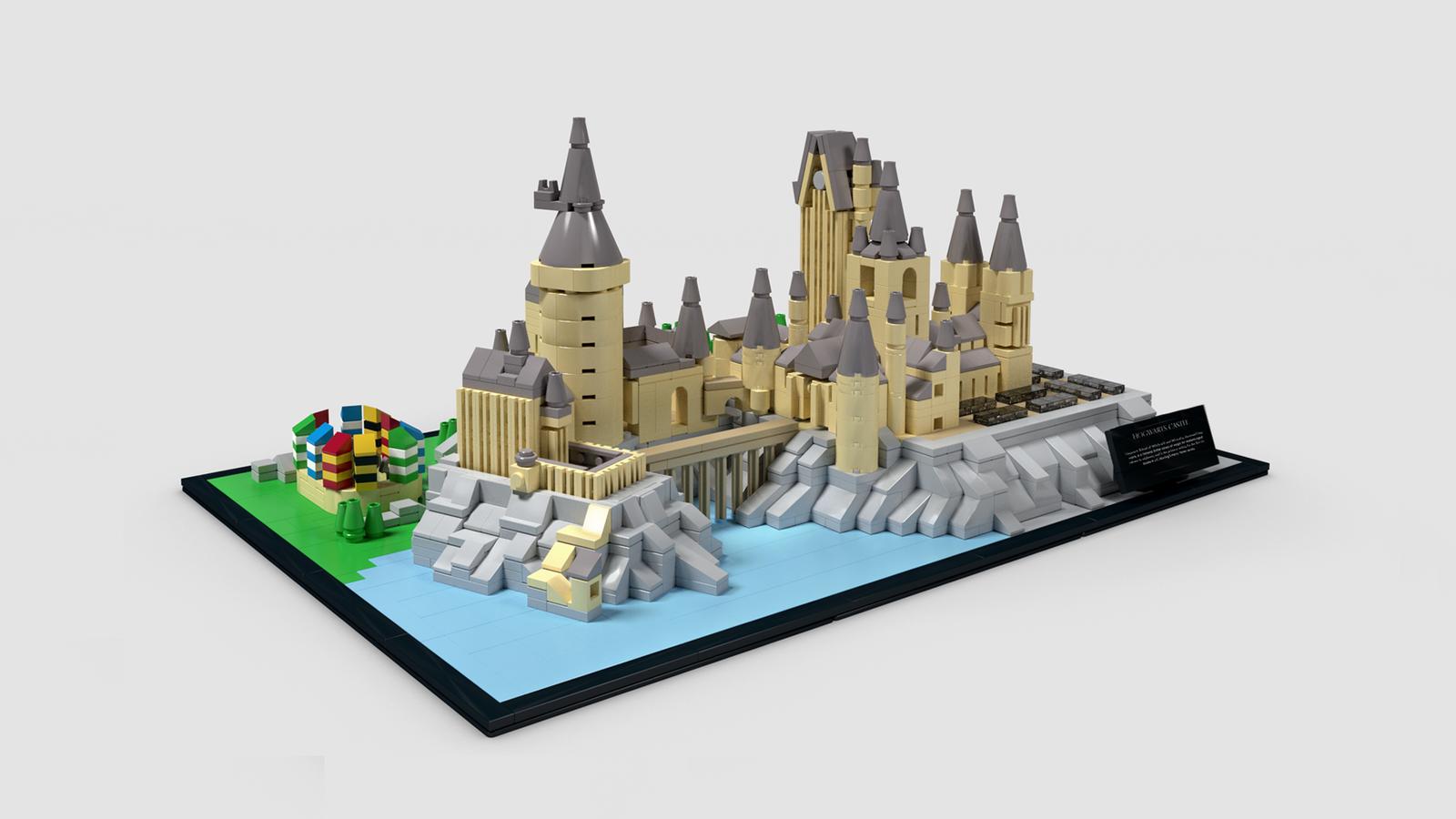 Hogwarts Castle Micro Micro Lego Lego Hogwarts Lego Projects