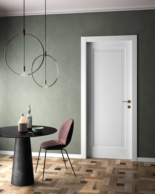 Porte Laccate Bianche Garofoli Prezzi porte laccate da interni pantografate: collezione milia (con