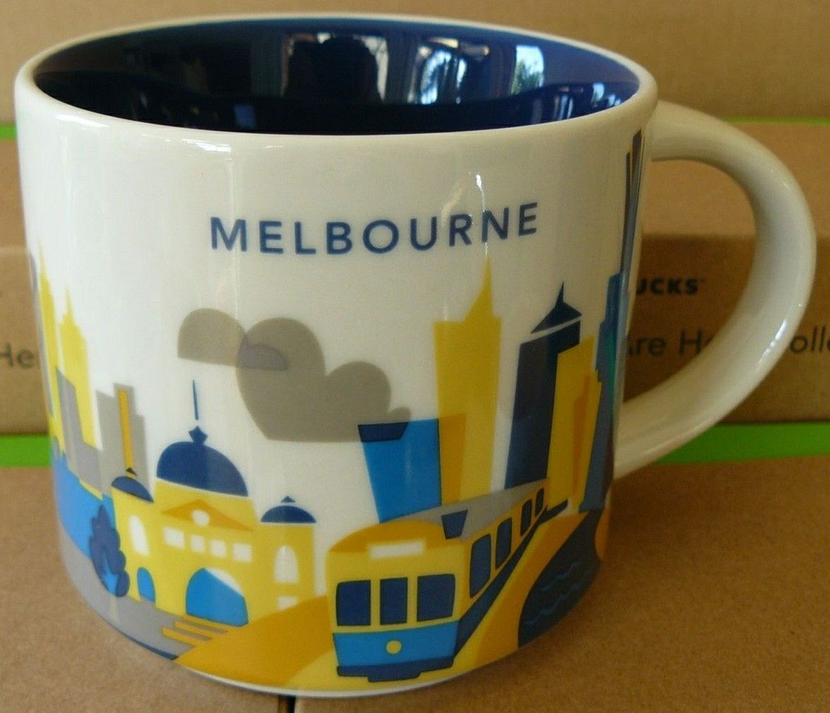 Melbourne You Are Here Starbucks Mug