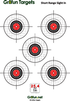 Obsessed image with printable air rifle targets