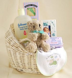 How to create baby shower gift baskets baby shower gift basket inexpensive baby shower gift ideas ribbon basket lining large baby gifts small negle Images