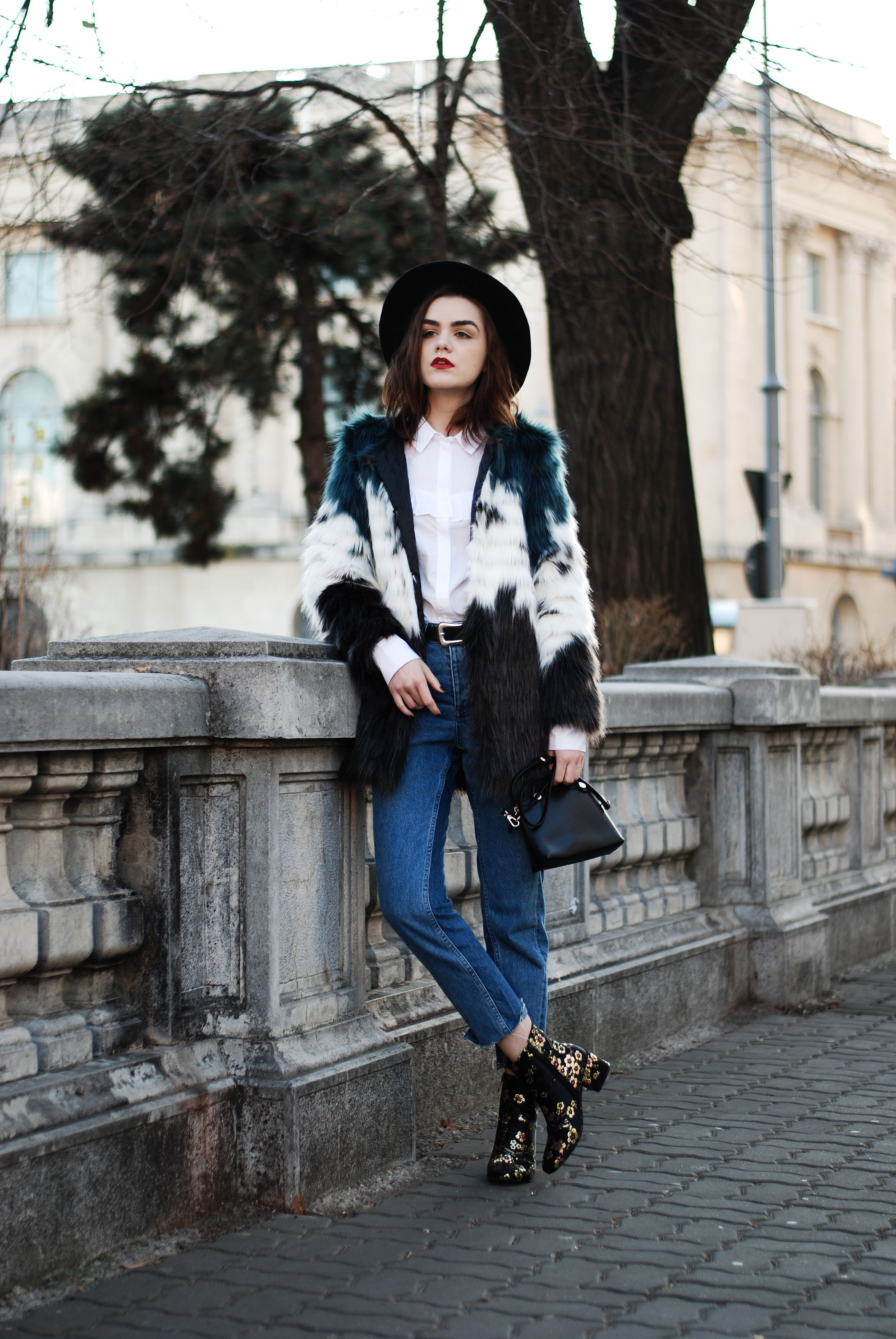 ac2c9303f7 Embroidered ankle boots  the go-to shoes for winter