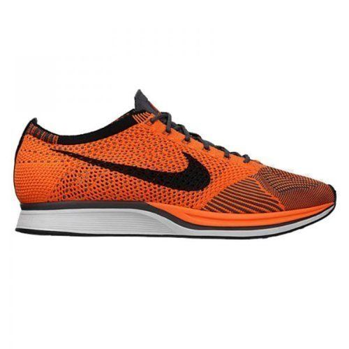 check out 792e6 ed275 Nike Unisex Flyknit Racer Total OrangeWhiteDark Grey Running Shoe 10 Men US  115 Women US     Learn more by visiting the image link.