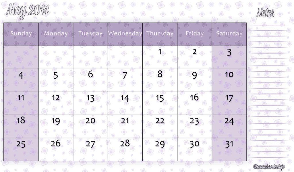 Free Printable May  Calendar  Printable Calendar