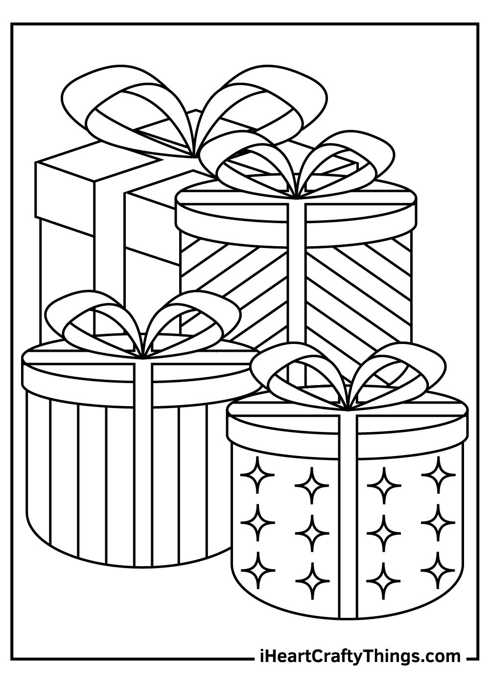 Christmas Present Coloring Pages in 18  Christmas present