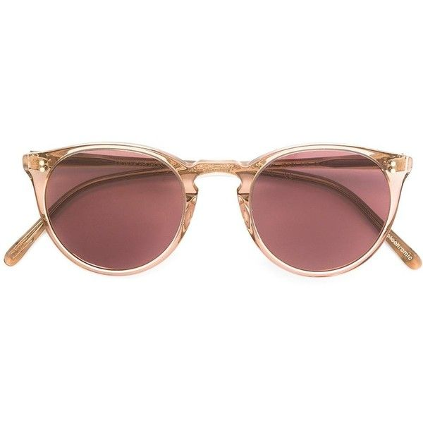 12ffa35313f Oliver Peoples x The Row Collection O Malley NYC sunglasses ( 490) ❤ liked  on Polyvore featuring accessories