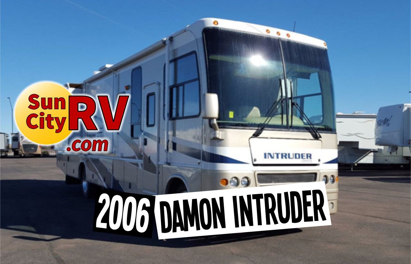 Just in this 2006 damon intruder 373 rv is now available