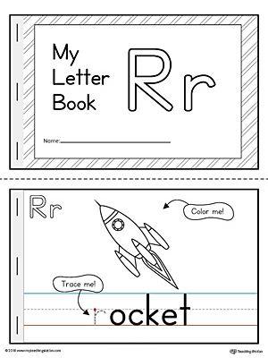 Letter R Mini Book Printable Letter R Activities For Kindergarten Letter R Activities Book Letters