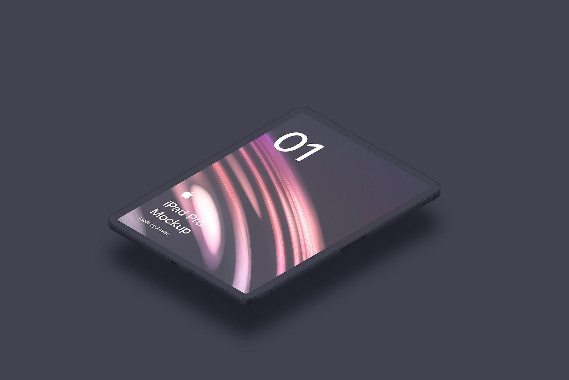 iPad Pro 2018 - 12 Isometric Mockups #Smart#purchase#quot
