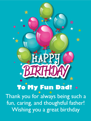 To My Fun Dad