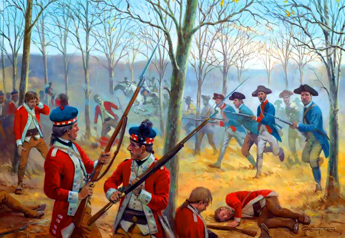 battle of cowpens A stunning example of military prowess and skilled leadership, the battle of cowpens near chesnee, south carolina was a critical american victory in the revolutionary war.