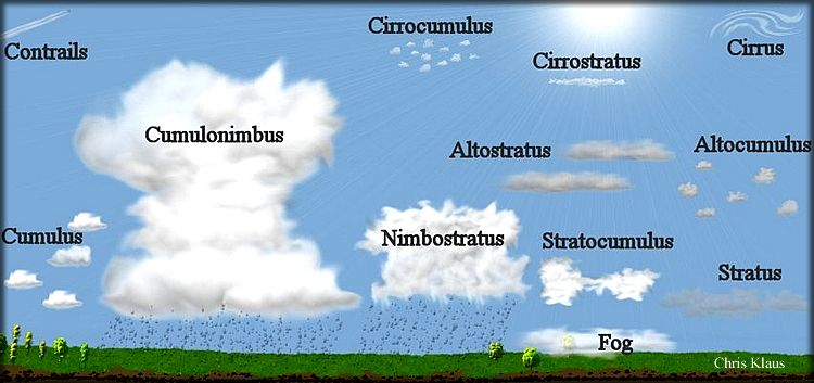 Google Sites High School Earth Science Clouds For Kids Cloud Type