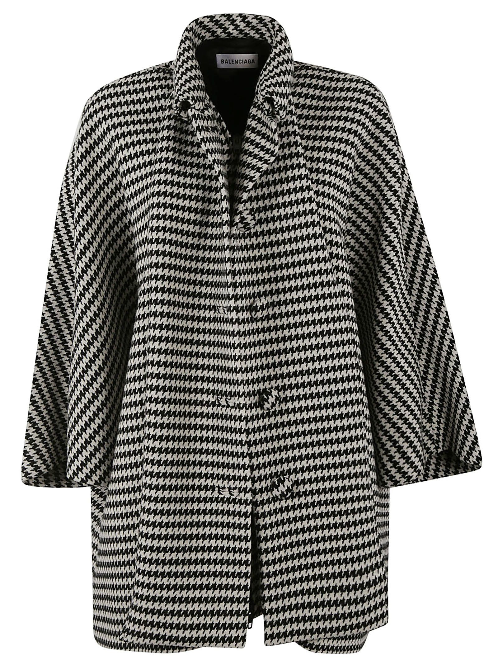 587ab1429137 BALENCIAGA HOUNDSTOOTH COAT.  balenciaga  cloth