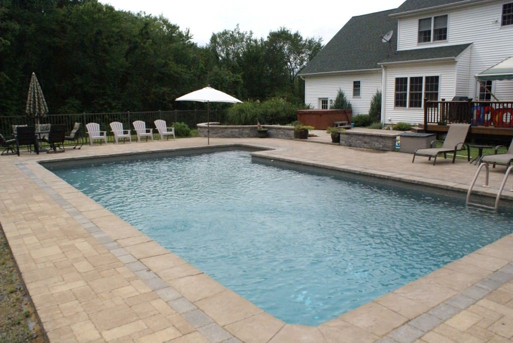 Rectangular Pool Designs With Spa rectangular swimming pools - yahoo image search results | pool