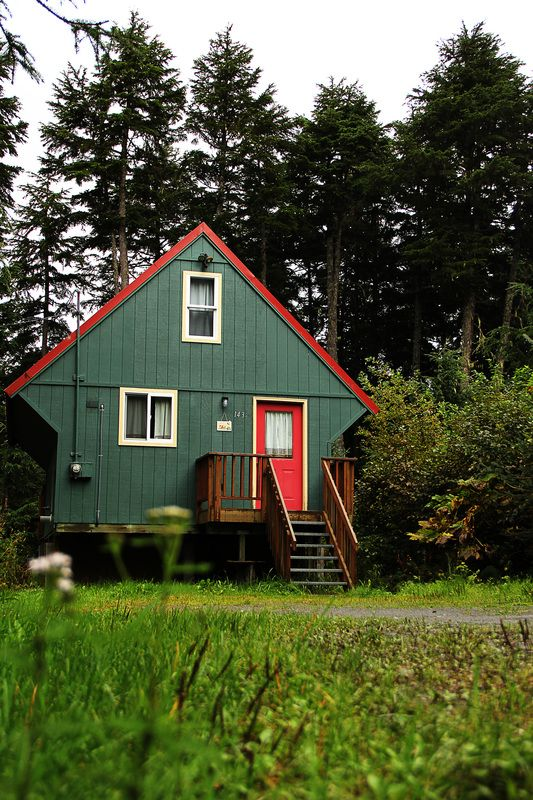 cabins at alaska r salmon camping do cabin rentals campgrounddetails ak in lake sitka