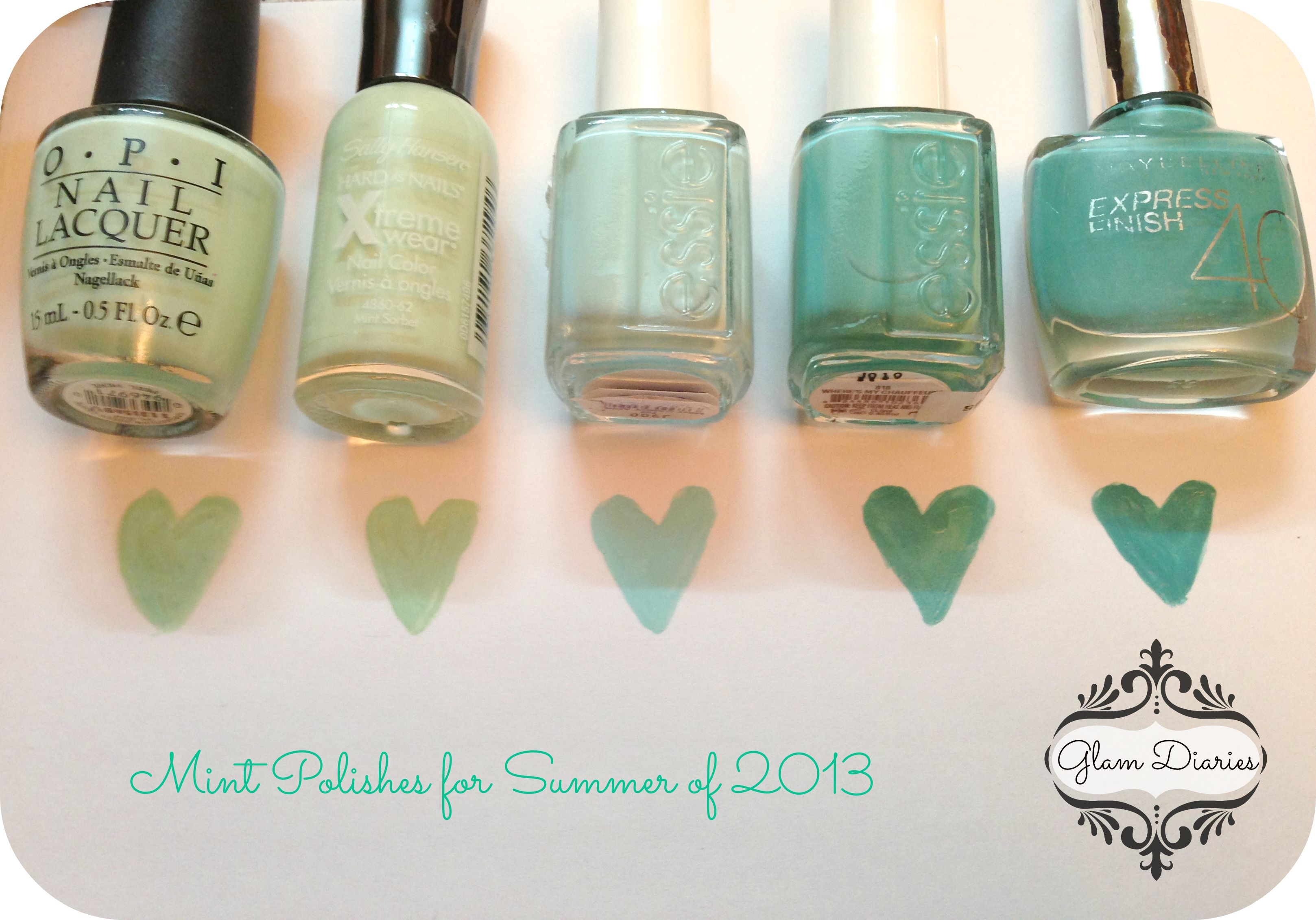 Mint Nail Polish Picks for Summer: OPI, Sally Hansen, Essie, MNY ...
