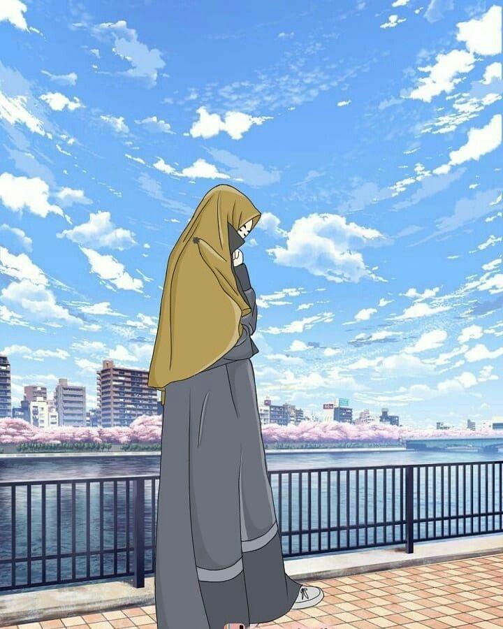 Pin oleh س di Muslim anime Animasi, Kartun, dan Islam