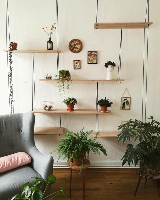 Kreatives DIY-Regal für Pflanzen und andere Accessoires So kannst