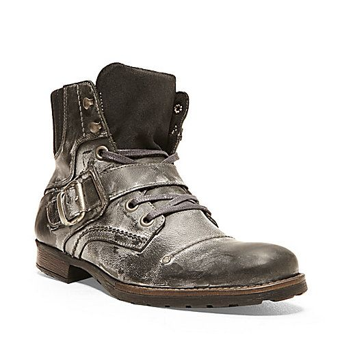 6f8a1931143 GIVINN BROWN LEATHER men's boot casual zipper - Steve Madden | For ...