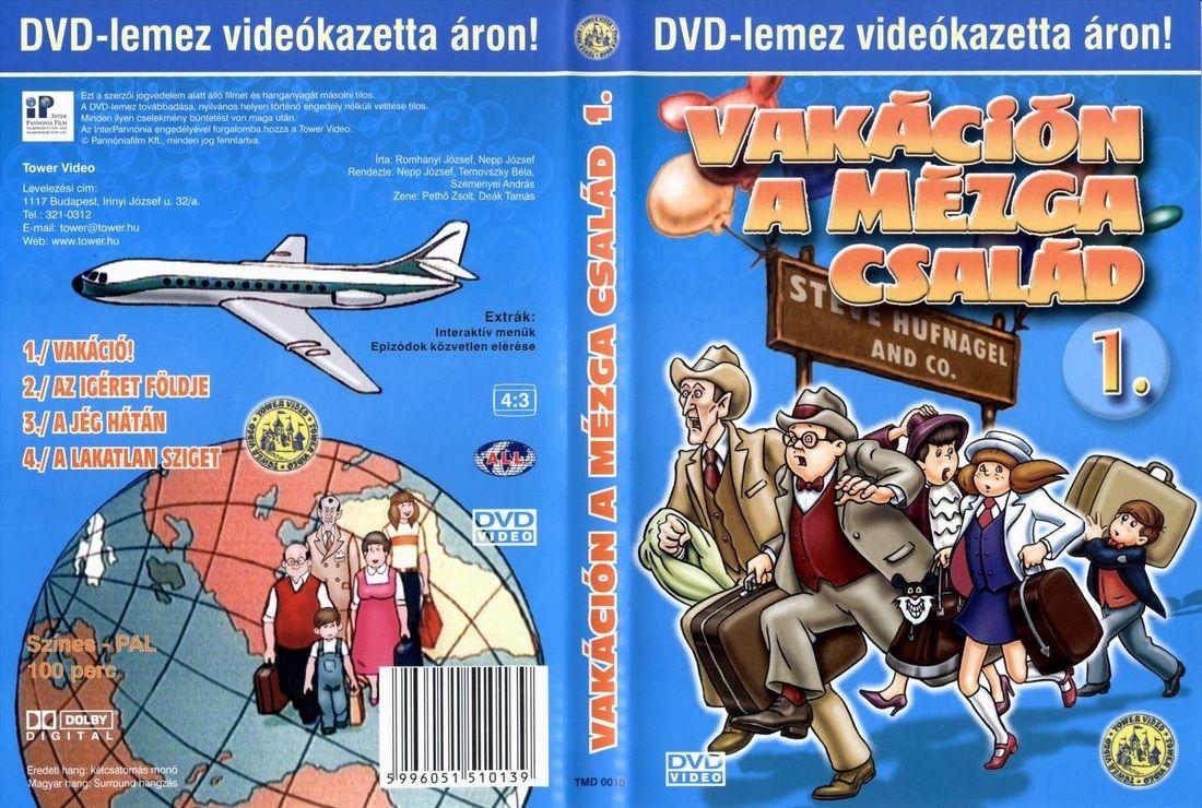 Vakacion A Mezga Csalad 1 Dvd Comic Book Cover Book Cover Comic Books