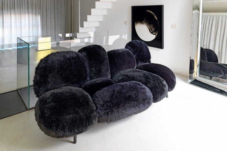 Cipria Sofa by F e H Campana for Edra Space Furniture Marija