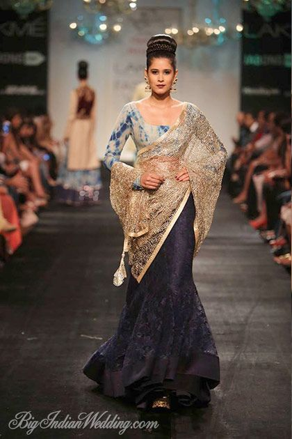 Vikram Phadnis Lakme Fashion Week 2014 Lehengas Sarees Lakme Fashion Week Bollywood Fashion Fashion