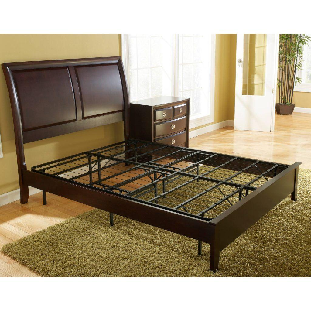 Box Springless Bed Frame Platform bed frame, Metal