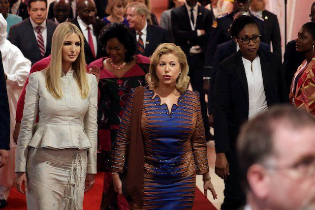 What Ivanka Wore the State Dinner in India - Political