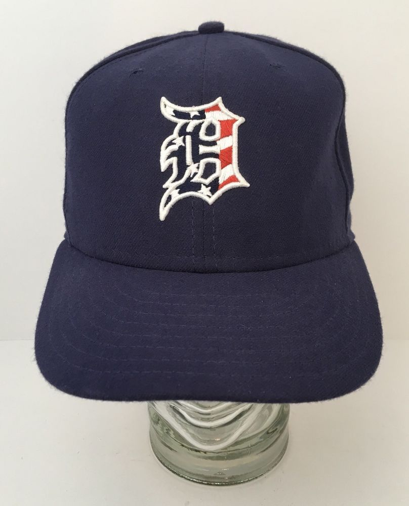 116dc68809435 Detroit Tigers Hat Exclusive For Players English D Filled Red White Blue  Flag US #NewEra #DetroitTigers