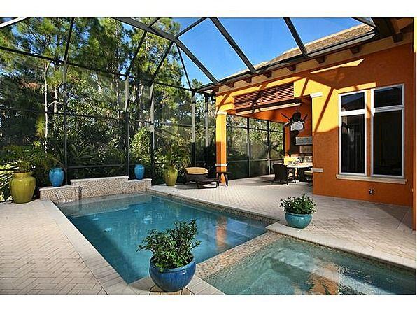 Screened In Pool In Florida Florida Pool Pool Patio Decor Pool Patio