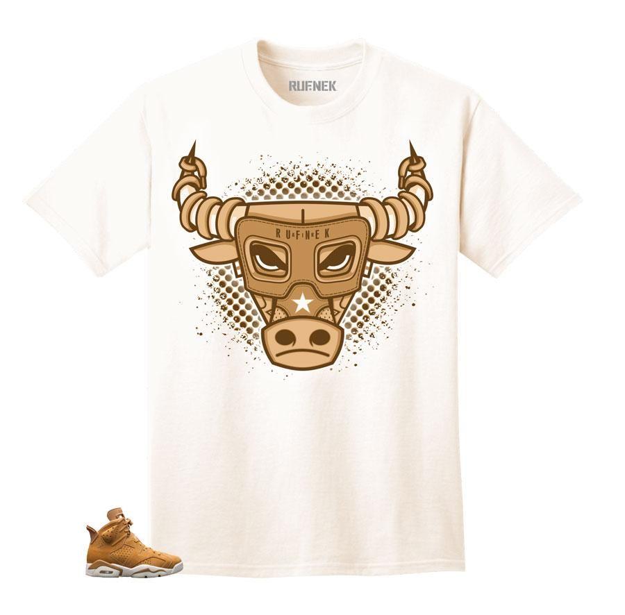 2acabc0c163a40 Shirts match Jordan wheat golden harvest shoes