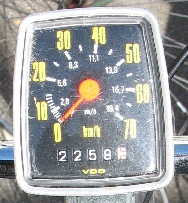 VDO Fahrradtacho - Erinnerst Du Dich?