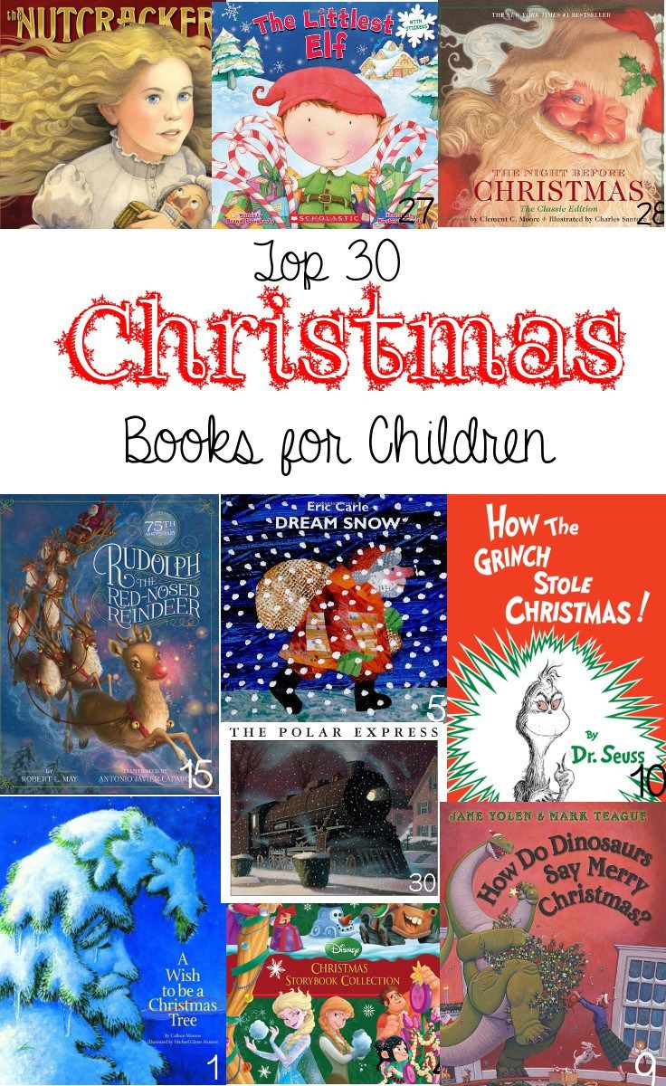 best childrens christmas books of all time