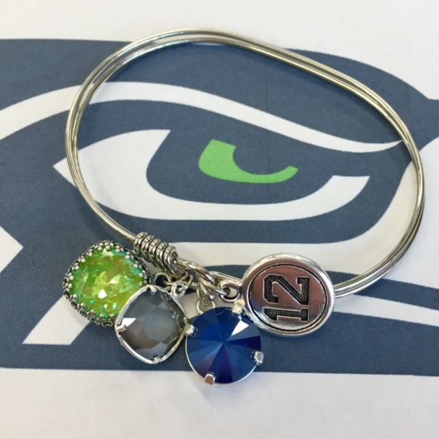 Team Hawks Bracelet Tutorial| Jewelry Inspiration | www.rings-things.com