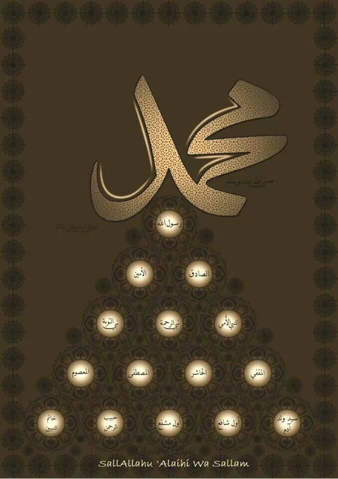 Prophet Mohammed ( Peace be upon him )