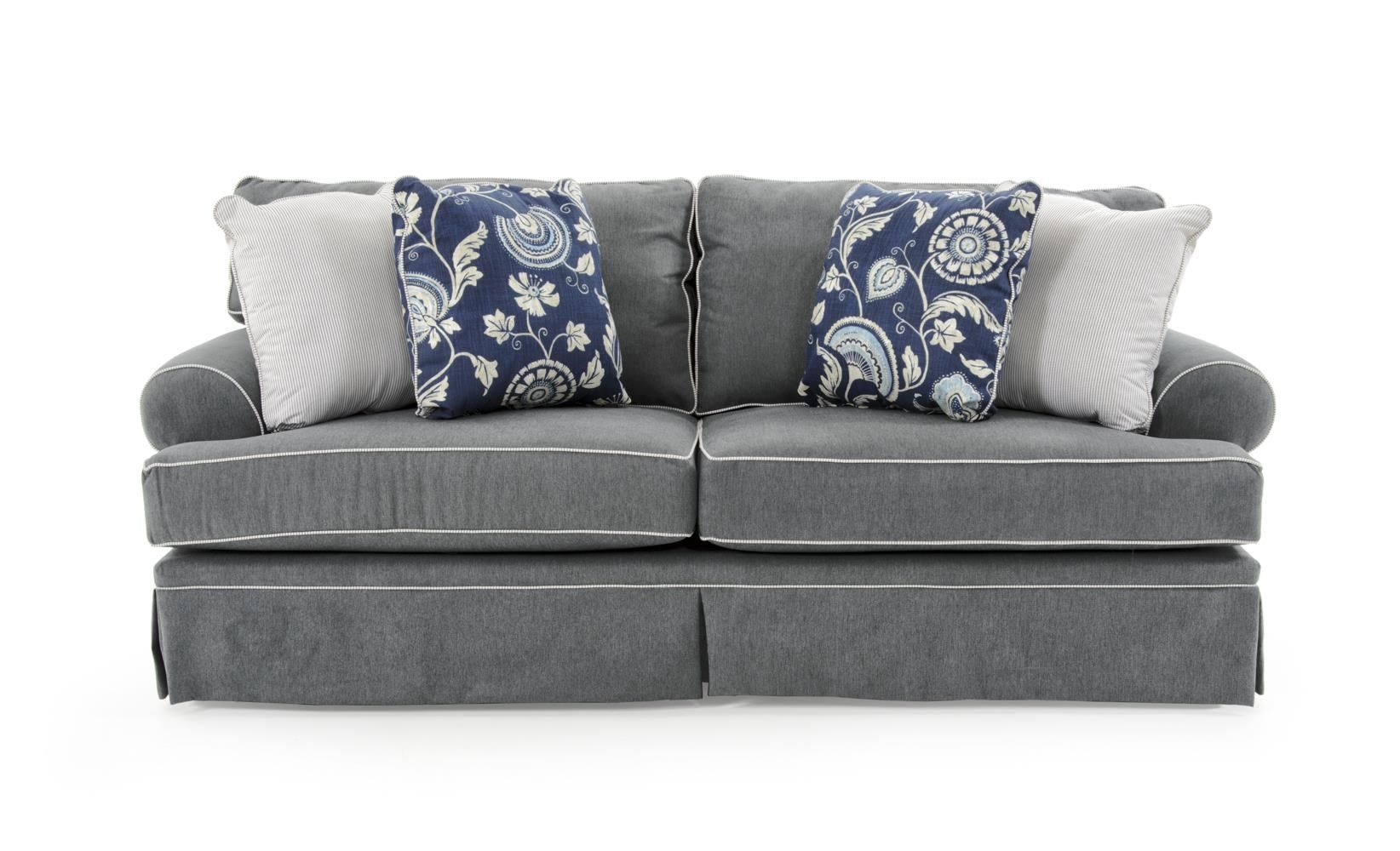 Brilliant Emily Casual Style Sofa By Broyhill Furniture At Baers Bralicious Painted Fabric Chair Ideas Braliciousco