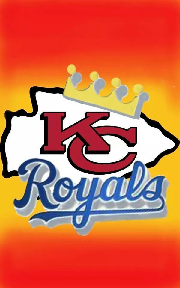 Chiefs And Royals Logo All Rolled Into One Kansas City Kansas City Chiefs Logo Kansas City Chiefs